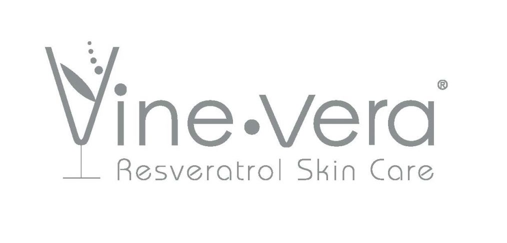 Logo for vine vera resveratrol skin care
