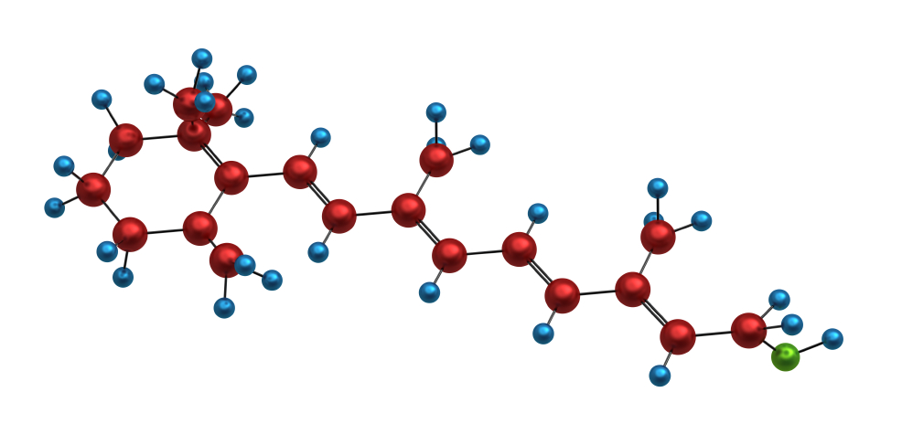 Molecule of vitamin A