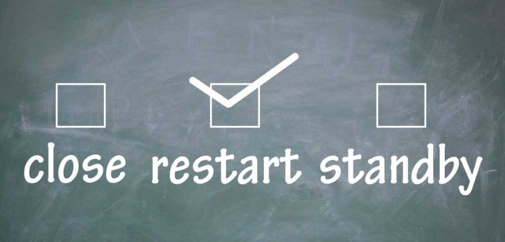 Restart concept