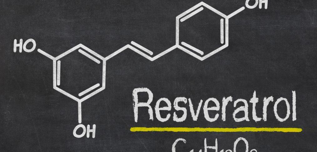 Resveratrol molecule structure