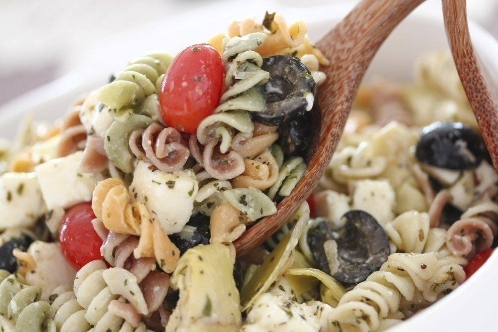 Pasta Salad with Peppers