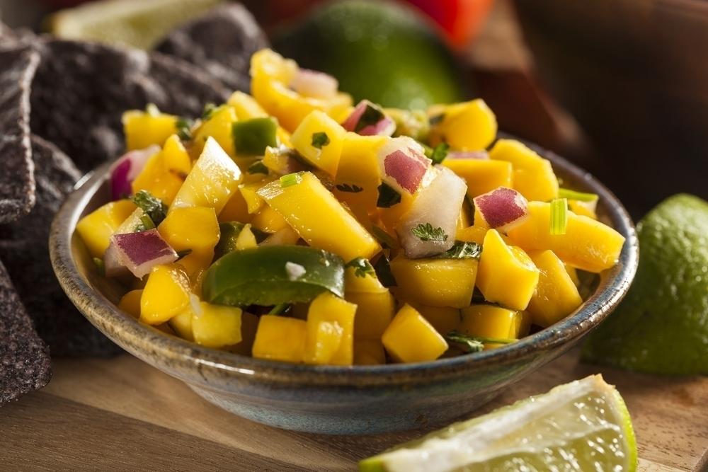 Mango Salsa dish