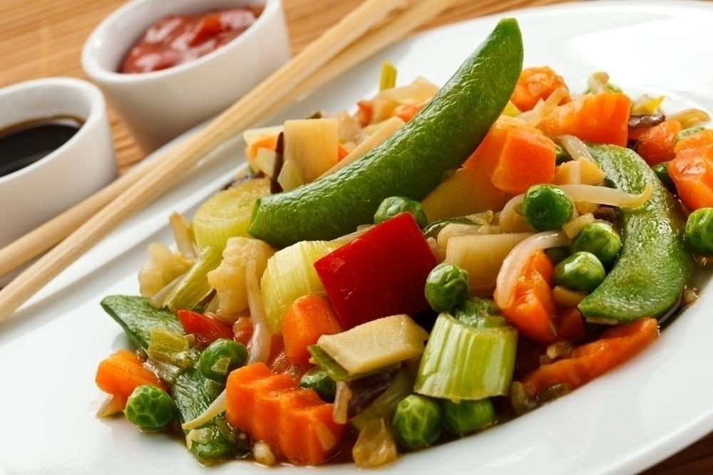 Vegetarian dish.