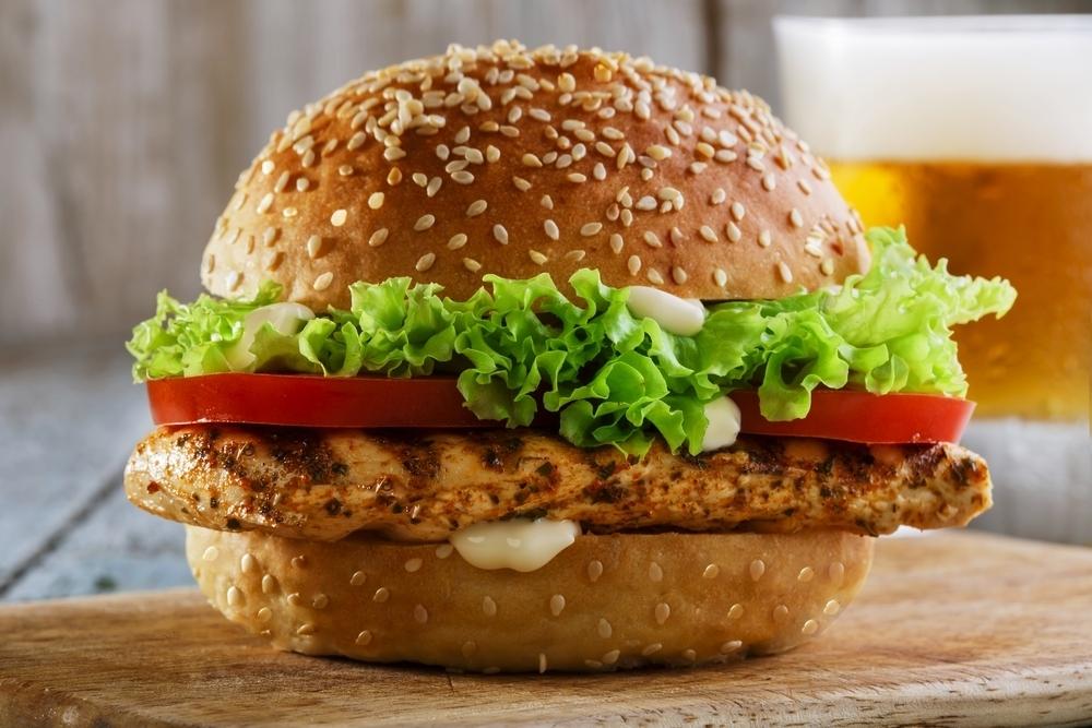 Grilled Chicken Burger.