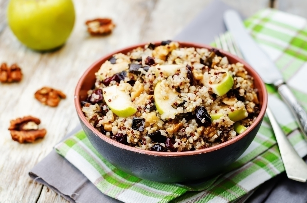 Apple Pecan Quinoa Salad
