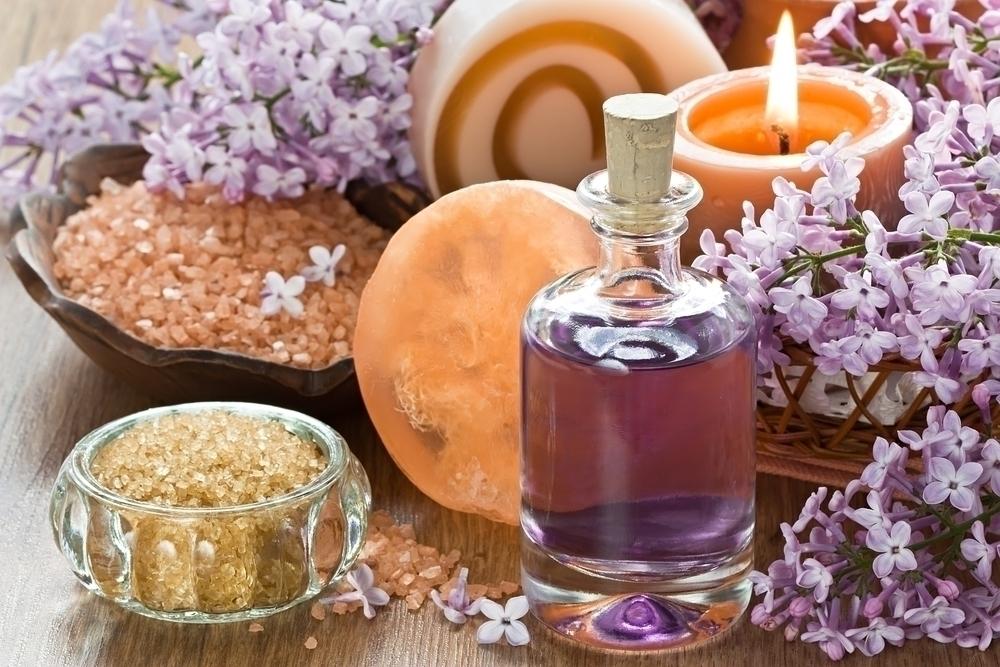 Aromatherapy oils.