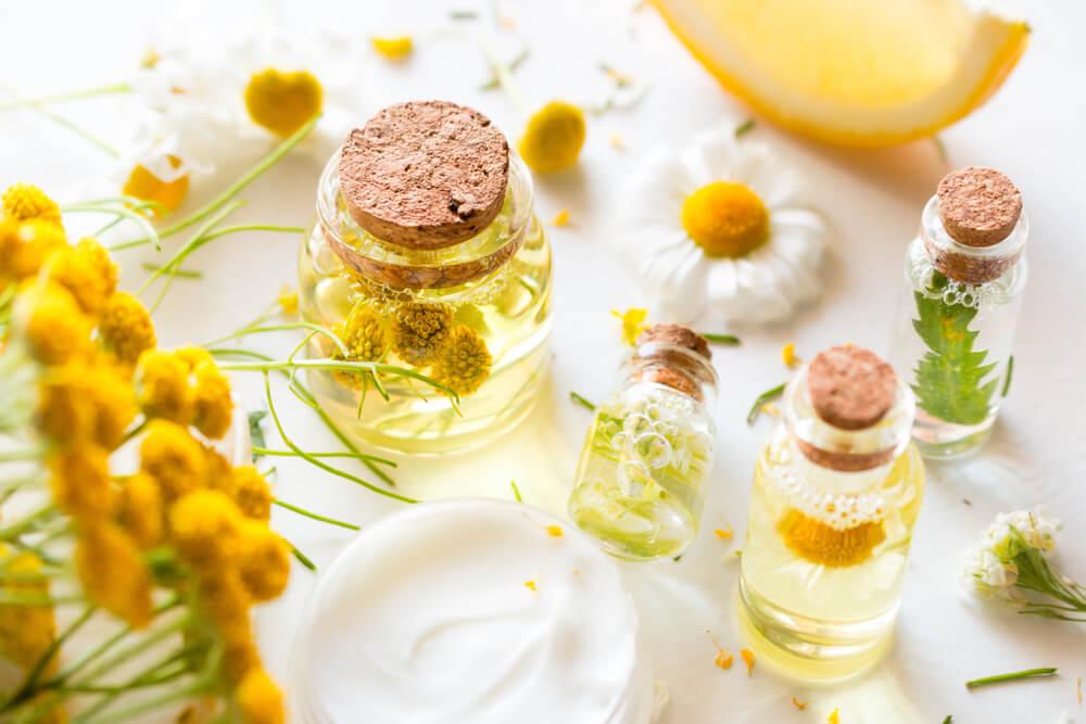 Botanical skincare with ingredients