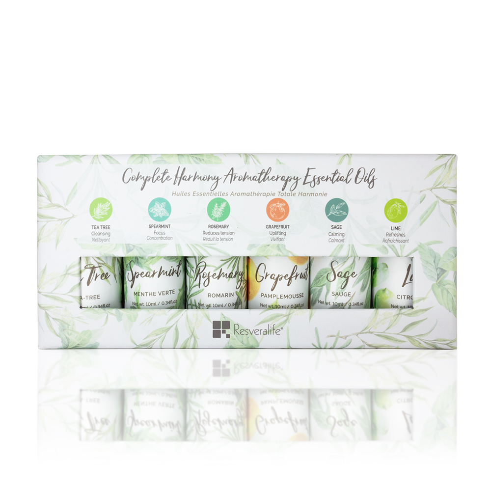 Complete Harmony Aromatherapy Essential Oils Set of 6