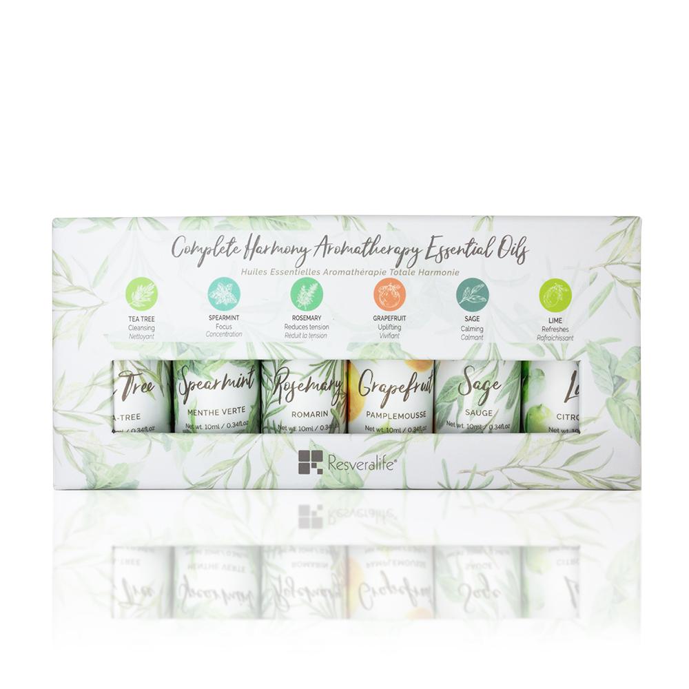 Complete Harmony Aromatherapy Essential Oils Set of 6