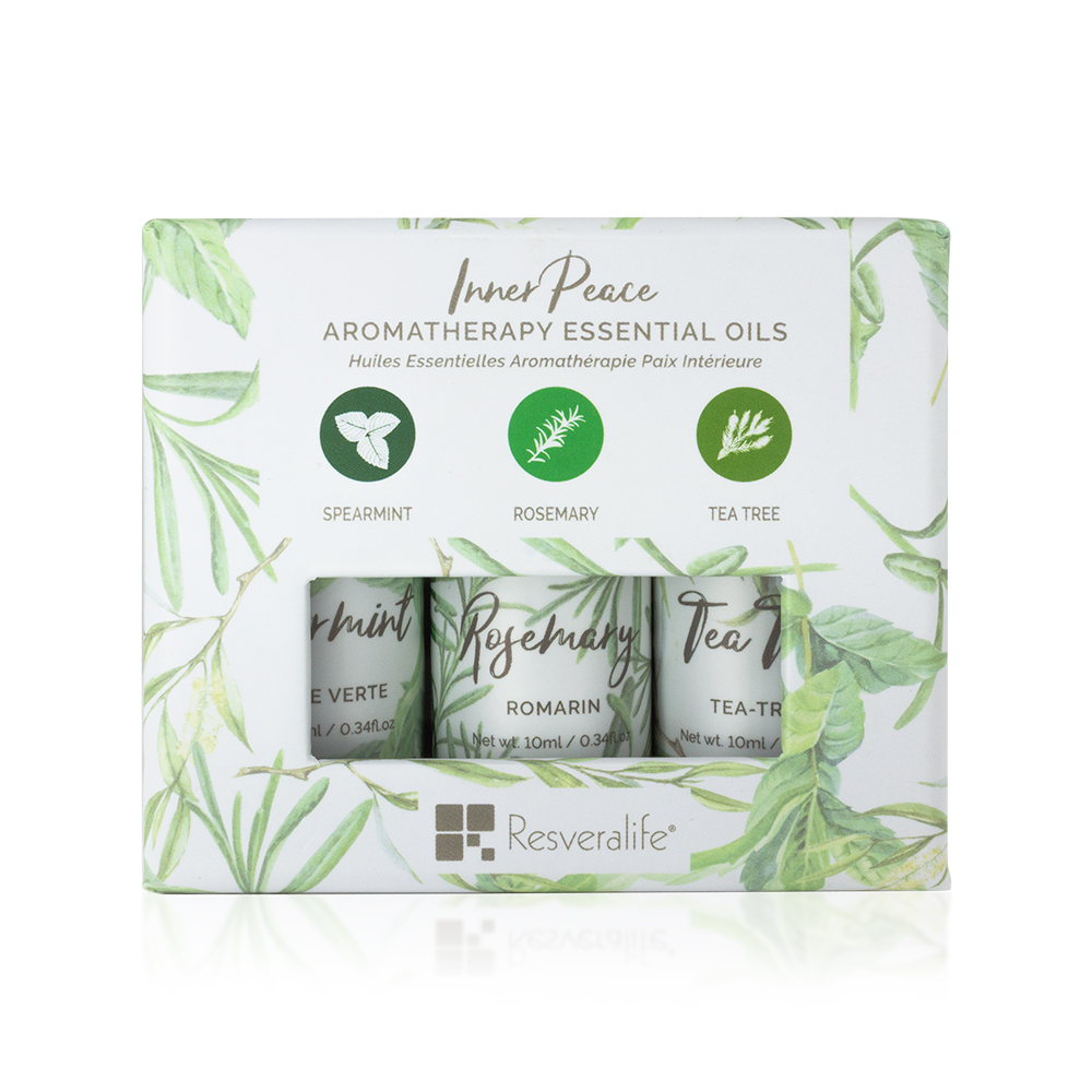 Inner Peace Aromatherapy Essential Oils Set of 3